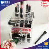 Heißer kosmetischer acrylsauerorganisator mit Lippenstift-Fächern