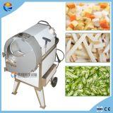 Slicer comercial e Dicer da fruta e verdura do aço inoxidável