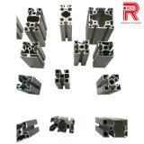 Profils en aluminium/en aluminium d'extrusion pour le rideau