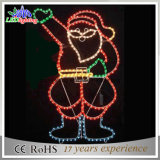 LEDのクリスマスの第2ハングのサンタクロースのモチーフライト