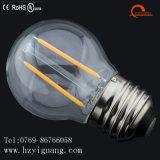 Luz directa del filamento del bulbo LED de la fábrica LED