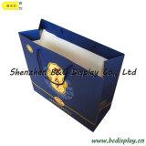 SGS (B&C-I037)が付いているハンドルが付いている高品質の買物をする紙袋