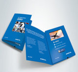 Video cartolina d'auguri con stampa personalizzata