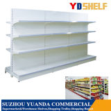 Ce Aprovado Flat Back Cold laminado Steel Supermarket Shelf Rack