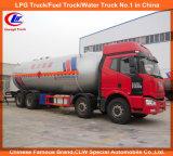 camion di serbatoio di trasporto del propano di consegna 12wheel del gas di 8X4 Donfeng GPL