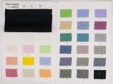 Lino del 15% del + lino Two-Tone de la tela de rayón 85%