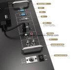 """director Monitor de la difusión 23.8 """" 4k con HDMI y conectividad del Sdi"""