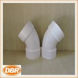 Guarnición del PVC con el estándar 4 de ASTM '' 1/8 curva