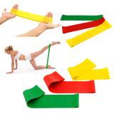 ¡Ventas calientes determinadas de la venda del bucle de la resistencia de la venda del ejercicio! ¡! Coloreado 4 vendas del ejercicio del látex de los niveles de resistencia
