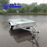 Galvaniseerde het Betrouwbare heet-Ondergedompelde Nut van de kwaliteit de Enige Aanhangwagen van de Asbus (swt-bt64-l)