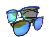 2016 óculos de sol à moda do metal da forma nova com lente polarizada