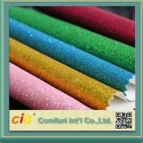 Decoration Use Glitter Leather Fabric