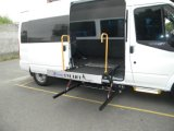 L'elevatore di sedia a rotelle per Van Can Load 300kg installa in portello centrale con il certificato del CE