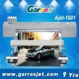 Stampa solvibile della stampante di Eco dell'autoadesivo esterno del vinile di Garros Ajet 1601 sulla pellicola di trasferimento
