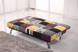Sofá del asiento de amor del diseño de Morden Cum la base para la venta caliente (VV961)