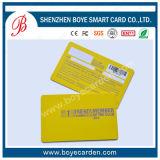 Contatto astuto reso personale CI del PVC/scheda di identificazione