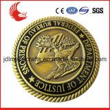 Moneta su ordinazione dell'oggetto d'antiquariato del metallo dell'oro di fabbricazione di Zhongshan