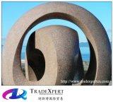 Verkoop het Modelleren van het Graniet het Abstracte Beeldhouwwerk van de Decoratie van de Tuin
