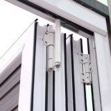 Porte de pliage en aluminium de profil d'interruption thermique de la qualité Kz297