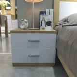中国の寝室セット(WW-004)のためのよい価格のカシ木Nightstand