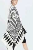 جديدة نمو [إيوروبن] أسلوب شال أحاديّ لون هندسة وشاح