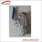 Gesundheitliches festgeklemmtes Kugelventil des Wenzhou Edelstahl-316