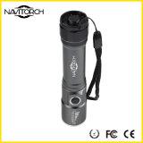 조정가능한 초점 소형 크리 사람 LED 플래쉬 등 토치, 포함되는 건전지, Zoomable LED 플래쉬 등 (NK-1861)