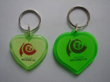 Cuore Shape Photo Frame Keychain per Promotional Gift