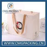 Saco de portador da roupa da laminação de Matt do Livro Branco (CMG-MAY-009)