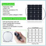 50W 18V que dobla el panel solar flexible de Sunpower con eficacia alta