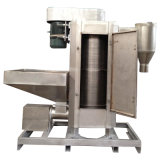 Acero inoxidable máquina de desagüe para lavar y secar las escamas de plástico