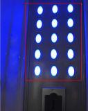 Control de la computadora Steamroom con la lámpara superior