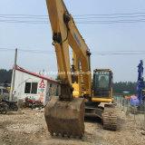 Excavador usado original de Japón KOMATSU PC300-7 (excavador de la correa eslabonada)