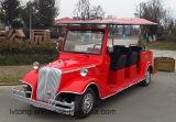Carro de serviço público psto elétrico de 8 assentos