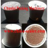 Remplissage de capsule de café de cuvette et machine de garniture du joint