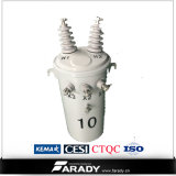 25kVA Single Phase Overhead Transformer com Silicon Steel Transformer Core