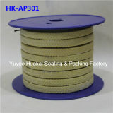 Aramid girado Fiber Braided Packing para Valves & Pumps