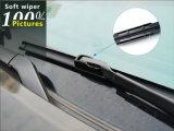 Автозапчасти вкладчика зрения магазина S850 4s ровные полностью лезвие счищателя Bracketless резиновый ясного безопасного взгляда лобового стекла вспомогательного оборудования автомобиля сезона мягкое