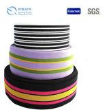Fasce elastiche del jacquard del telaio all'ingrosso del Rainbow