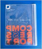 Sac en plastique clair de &Ziplock de poly-sac d'EVA réutilisé par coutume