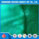 Зеленая, черная ткань тени HDPE, плетение тени для пользы земледелия