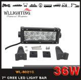 36W CREE 7inch LED nicht für den Straßenverkehr heller Stab des Arbeits-Licht-12LEDs