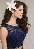 Новое двухкусочное платье выпускного вечера Quinceanera платья коктеила повелительниц