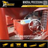 Оптовое минирование штуфа золота обрабатывая фабрику оборудования сепаратора джига силы тяжести