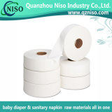 100% Natural Jumbo Roll Paper pour couches avec CE (SH-035)