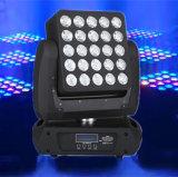 indicatore luminoso mobile della fase della testa LED della matrice a punti 5X5