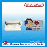 Matal Namensclip-AbzeichenPin mit Magnet-Rückseite