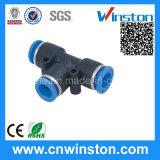 Mini Plastic Pneumatic Tube Air Fittings con CE