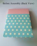 Caja verde del caramelo de chocolate del favor de partido del papel de PUNTO de polca
