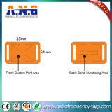 Il Wristband tessuto di RFID con obbligazione di Maximizse ed impedice le falsificazioni